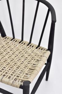 WLTP svarvad stol svart detalj.jpg