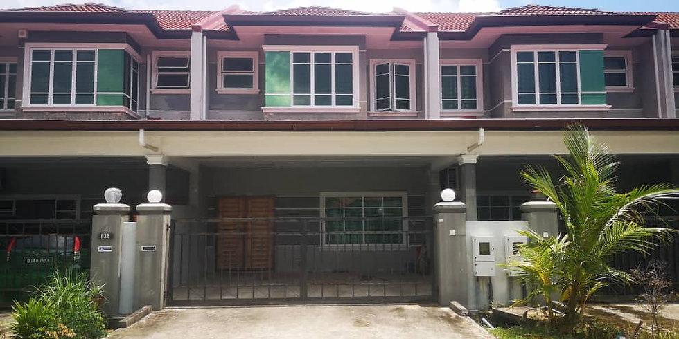 Double Storey Intermediate House at Uni Garden, Samarahan