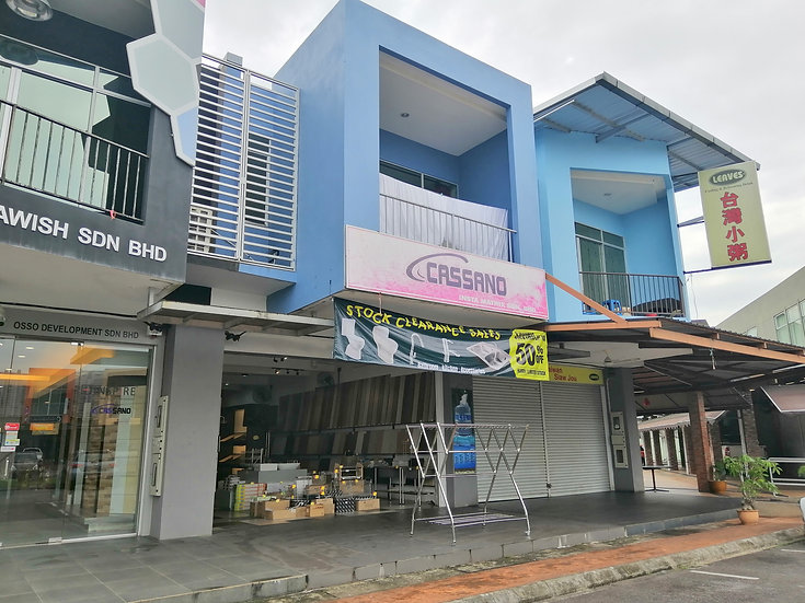 Soho 188, 2 Storey Shophouse at Lorong Wan Alwi
