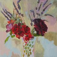 Lavender, Roses, Geraniums