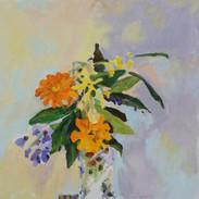 Frangipani and Marigold