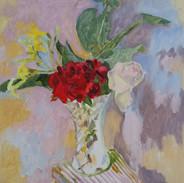 Gumleaf and Roses