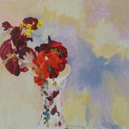 Redleaf, Frangipani, Geranium