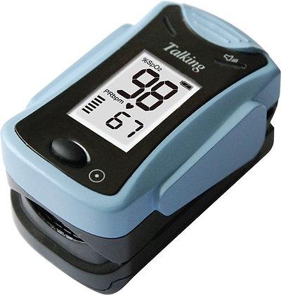 Oximetro de pulso con altavoz