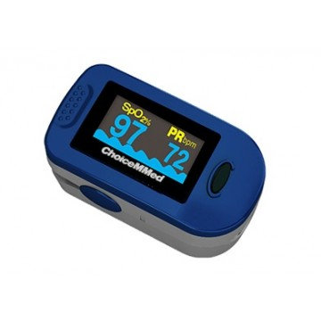 Oximetro de pulso con curva Adulto