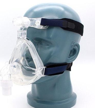 Máscara oronasal siliconada talla S-M-L