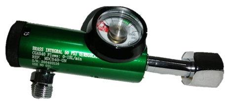 Regulador para Oxigeno Medicinal Flujo 0-15 LPM ROSCA