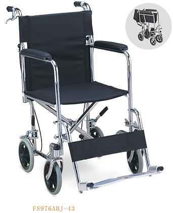 Silla de transporte y piecero removible