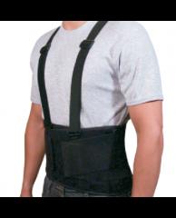 Cinturón con soporte (ortesis lumbar)