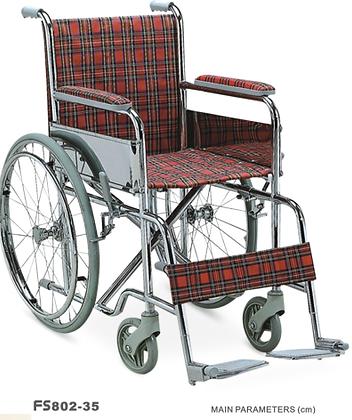Silla de ruedas estándar pediátrica