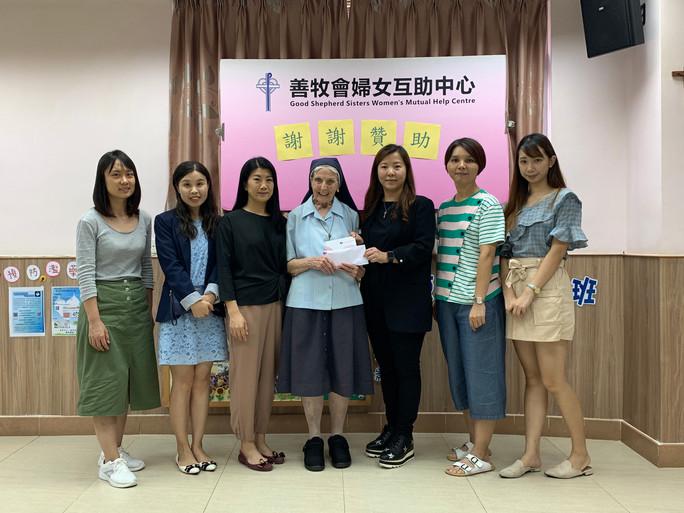 瑞欣慈善會600展覽門票贈學校及社服機構