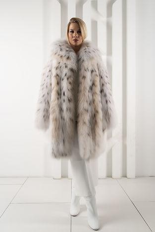 Шуба из меха рысы. Шуба из натурального меха. Пальто из рыси. Рысь.