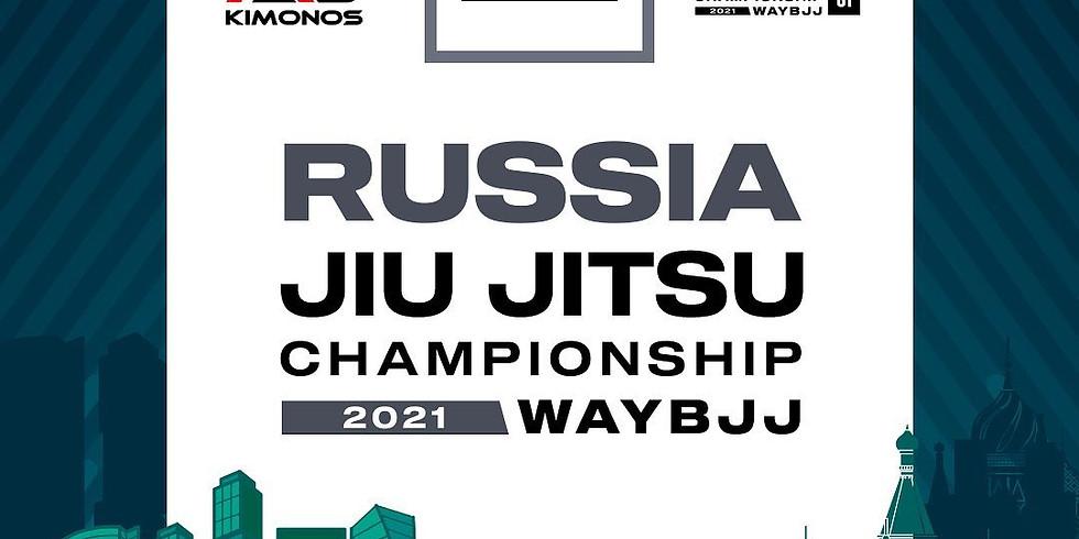 WAYBJJ RUSSIA JIU JITSU CHAMPIONSHIP 2021 GI & NOGI