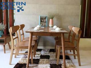 Lý do bàn ăn gỗ được những nhà ở chung cư lựa chọn