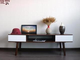 Lựa chọn kệ tivi đẹp cho phòng ngủ thêm ấm áp và hạnh phúc