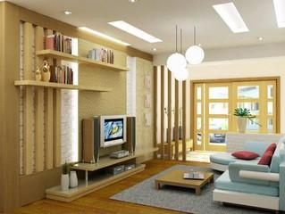 Hướng dẫn cách chọn mua kệ tivi cho phòng khách chung cư thêm sang đẹp