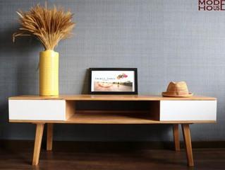 Lý do nên mua tủ tivi chung cư bằng gỗ tự nhiên
