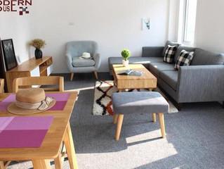 Ba loại ghế sofa phòng khách dành cho những gia đình có em bé