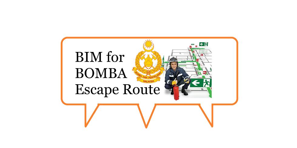 BIM for BOMBA Escape Route (1)