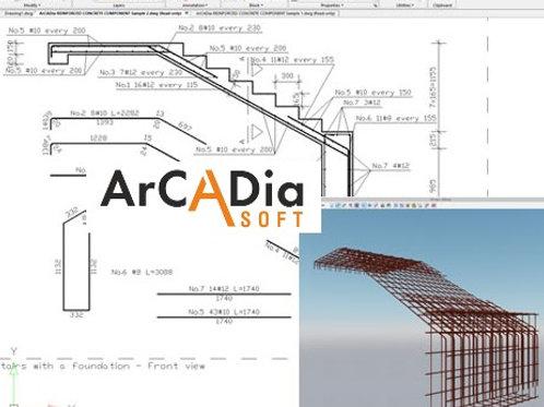 ArCADia-REINFORCED CONCRETE COMPONENT