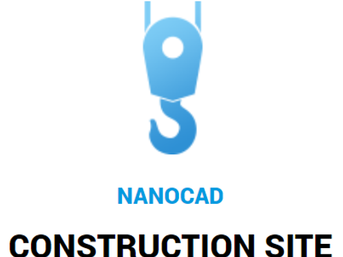 nanoCAD Construction Site: Workstation