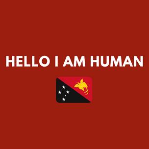 'Hello I am Human' by Vilousa Hahembe