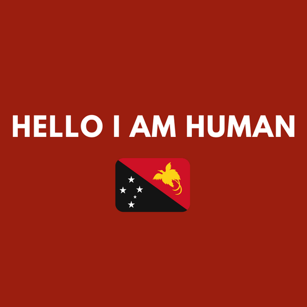 'Hello I am Human' by Vilousa Hahembe