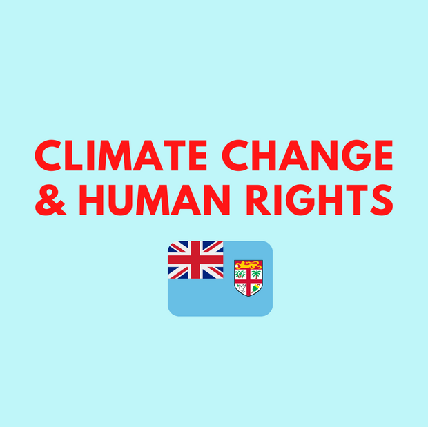 'Climate Change & Human Rights' by Isimeli Cakau Vuetaki