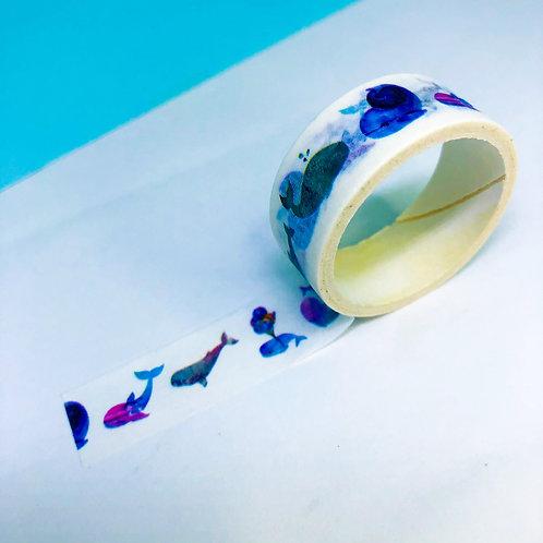 Washi Tape Baleia
