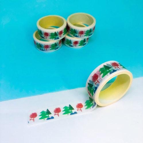 Washi Tape Árvores- Pinheiro 2