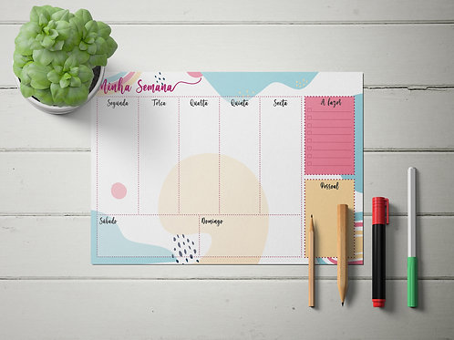Planner Semanal - Color