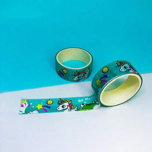 Washi Tape Unicórnio Be Magic