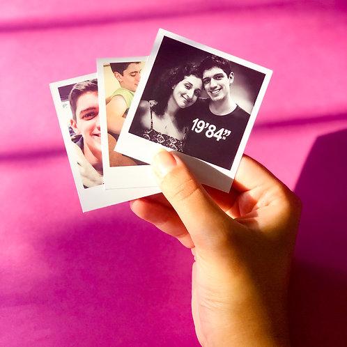 Mini Polaroid 7x6cm