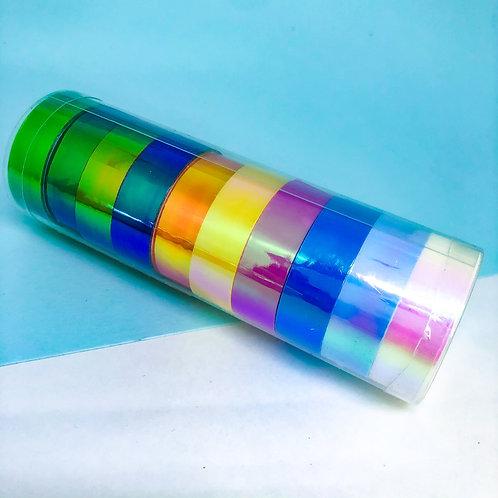 Washi Tape Holográficos com 10