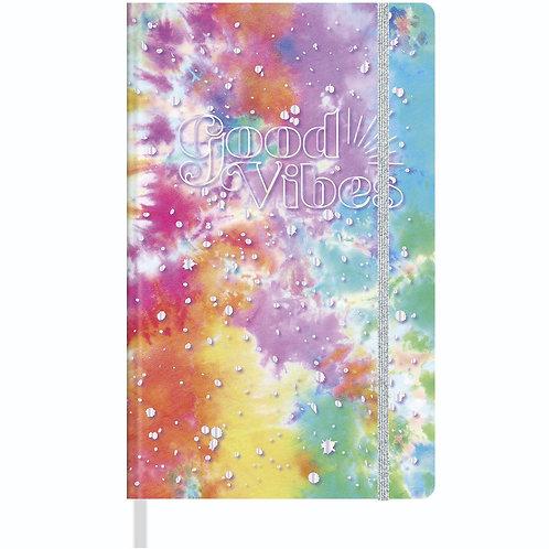 Caderno Costurado Pontilhado G - Good Vibe