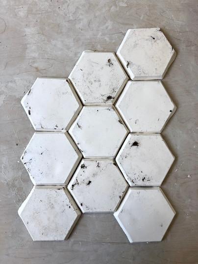 Dust Tile Arrangment
