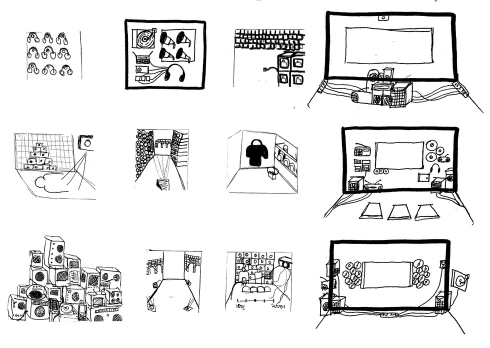 Initial Intervention Sketches