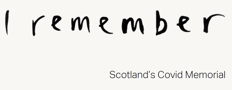 'I remember' - the Scottish Covid Memorial