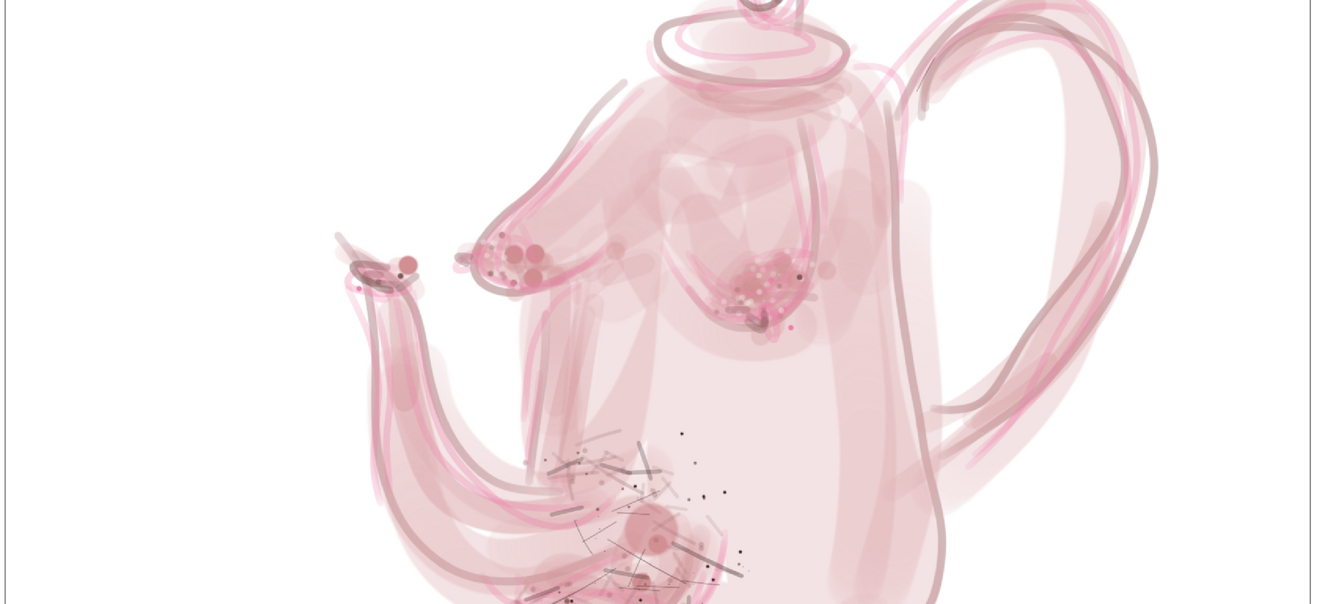 Teapot II  2019  Digital drawing