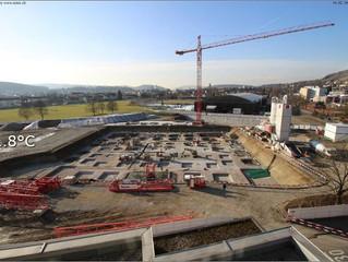 Wincity, Ballsporthalle und Sporttrakt 1 in Winterthur