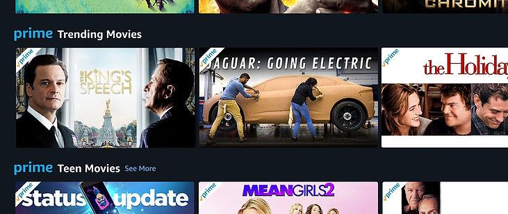 Going Electric - Trending on Amazon Prim