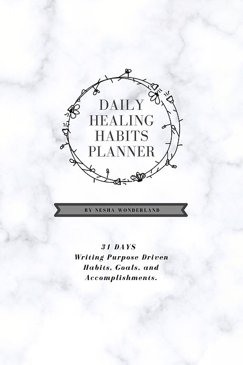 Daily Healing Habits Planner