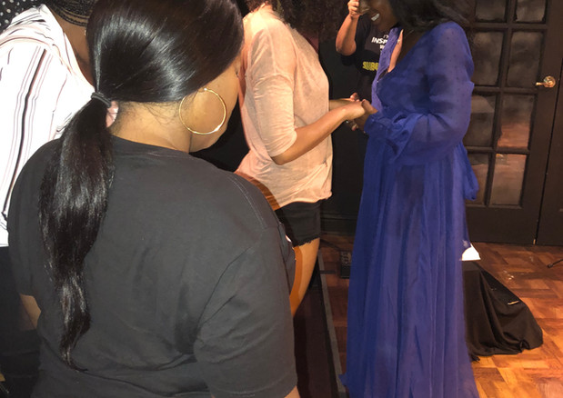 Prayer at August 2019 Live Show