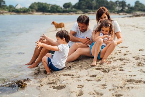 Maelle Bernard Photographe famille quimper Bretagne