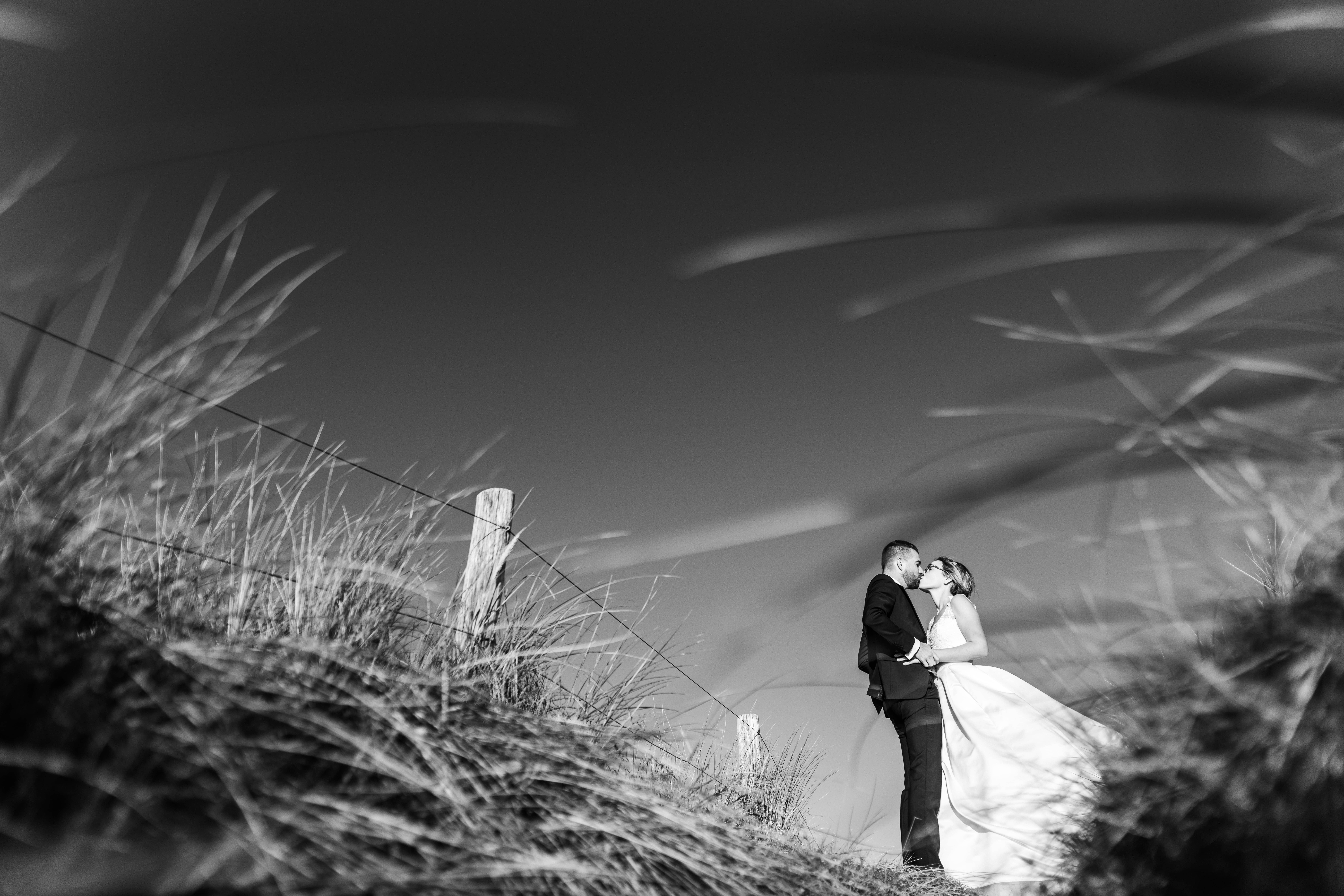 Photographe mariage bretagne plage