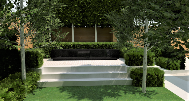 Taylor_ Water Feature View Front Garden.