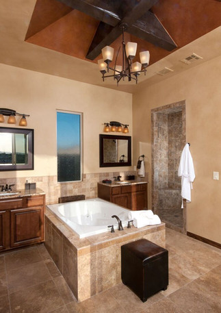 Desert Contemp Master Bath