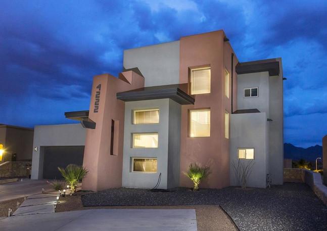 Contemporary Home - Exterior Front Facade