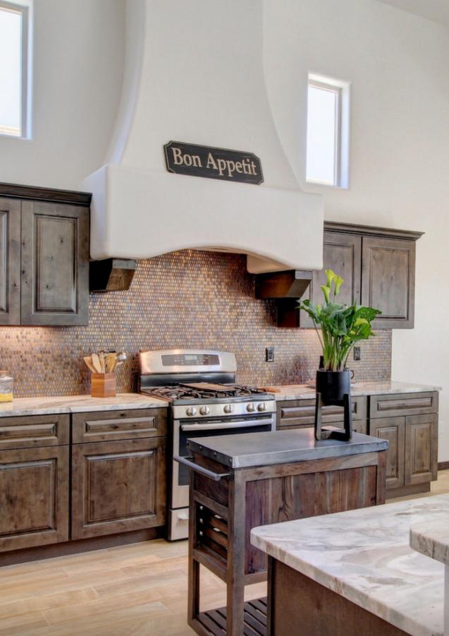 Modern Desert Style Custom Kitchen by Trinity Homes LC