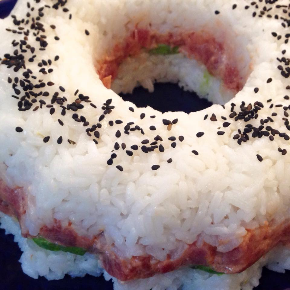 Rosca de spicy tuna